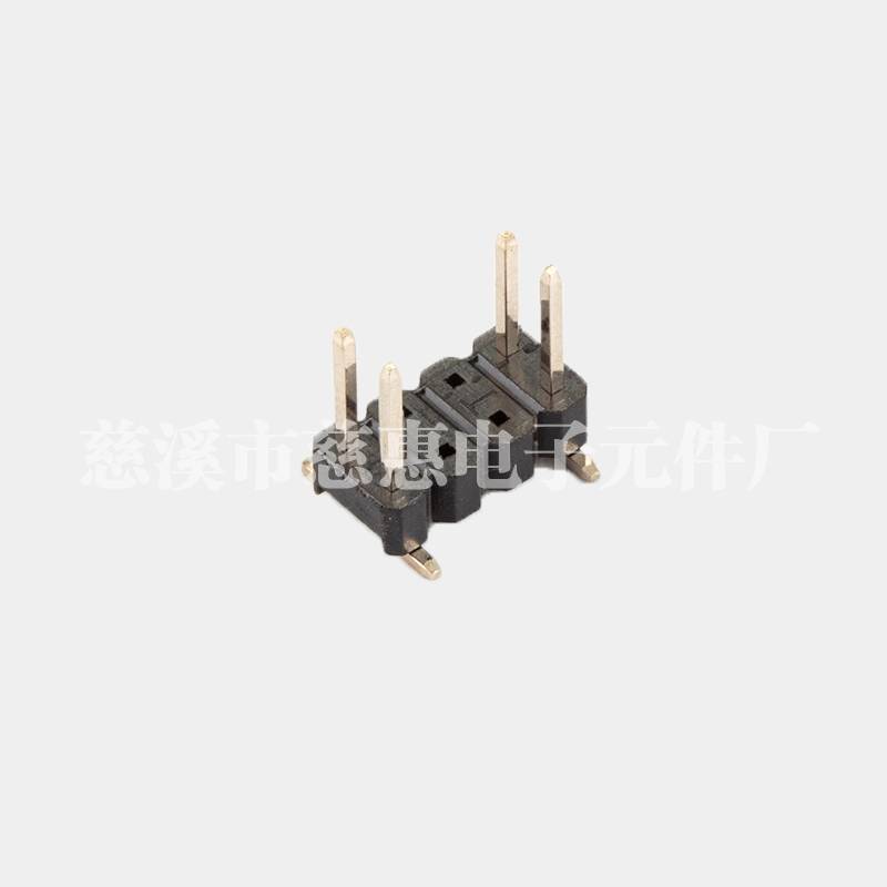 PH2.54-2x4P-中间空4P排针 SMT