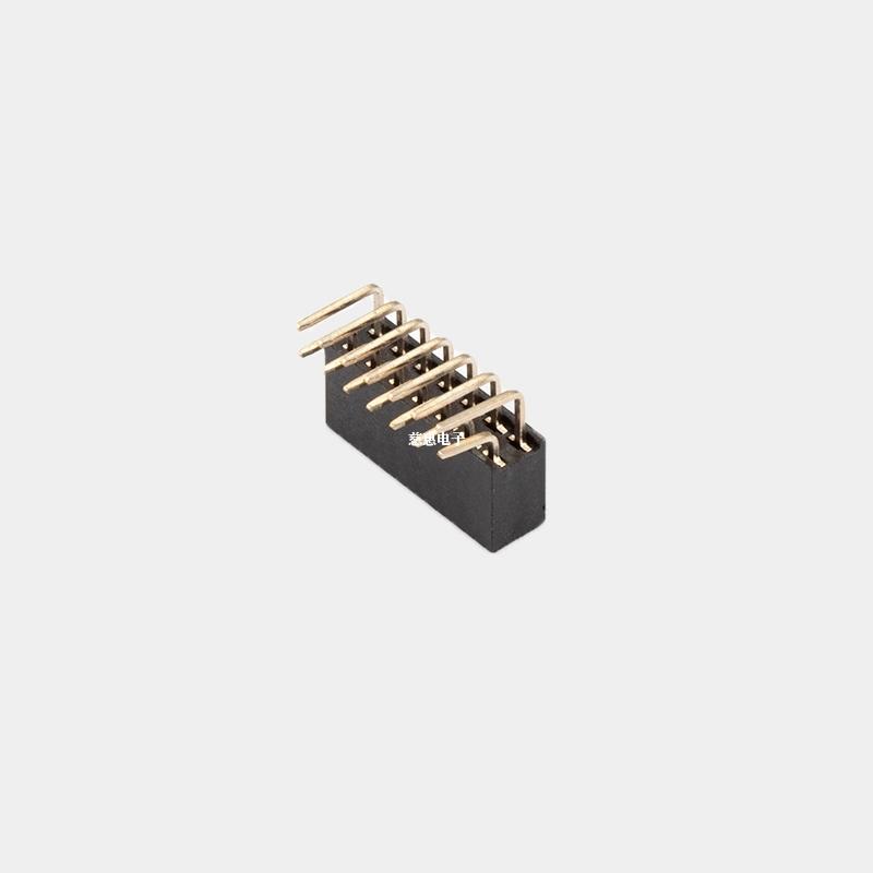 PH2.54 H5.7/8.5单双排母 Y端 90°