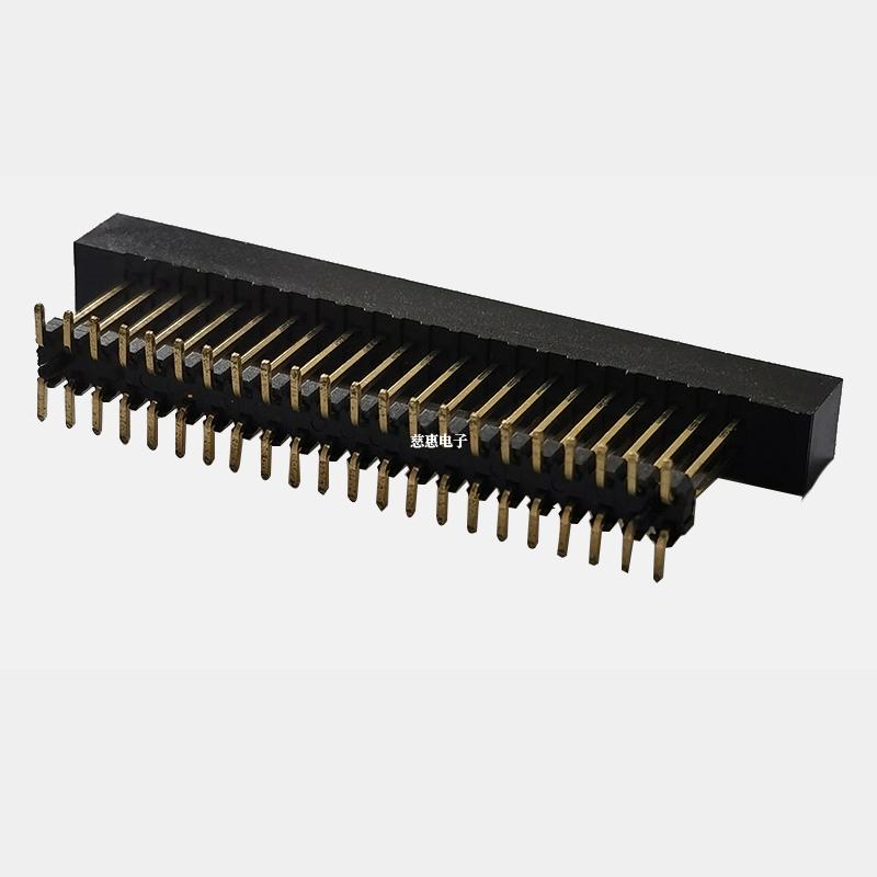 PH2.54 简牛加高一端贴片带定位柱